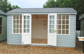 Holkham Summerhouse with Doors Open