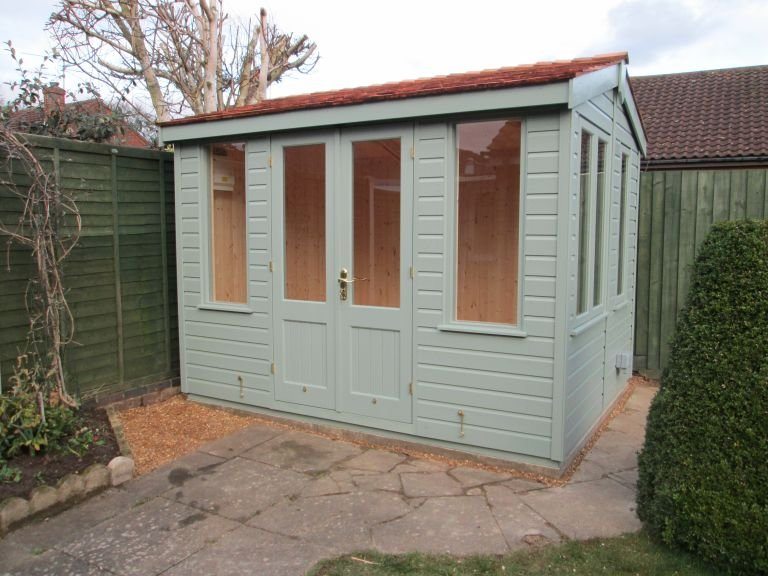 Holkham Summerhouse in Sage