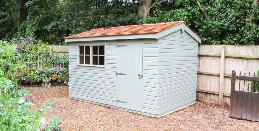 Large Superior Garden Sheds Delivery, Wooden Garden Storage Box Uk