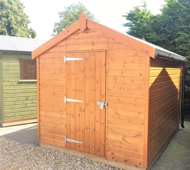 Superior Shed - 2.4m x 3.0m (8ft x 10ft)