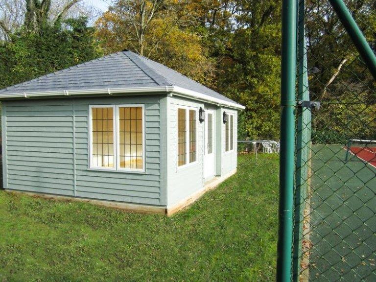 Garden Room with Inset Doors - Wells