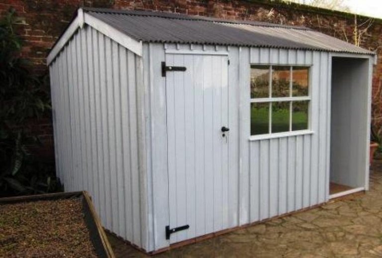 Newly built National Trust Shed - Kent
