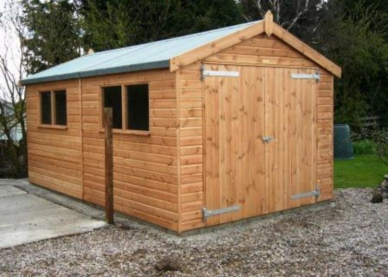 Timber Garage - Gillingham