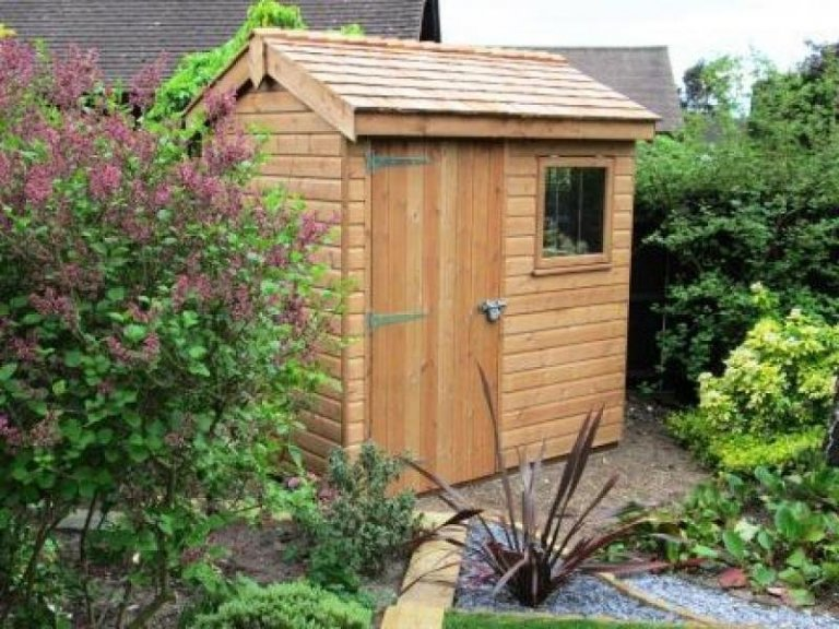 Superior Shed with Cedar Shingles - Wokingham