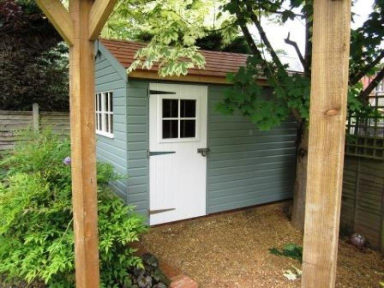 Georgian Style Garden Shed - Penrith
