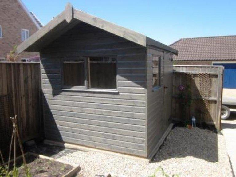 Garden Shed with Side Overhang - Harrogate