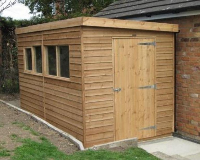Superior Pent Garden Shed - Lough
