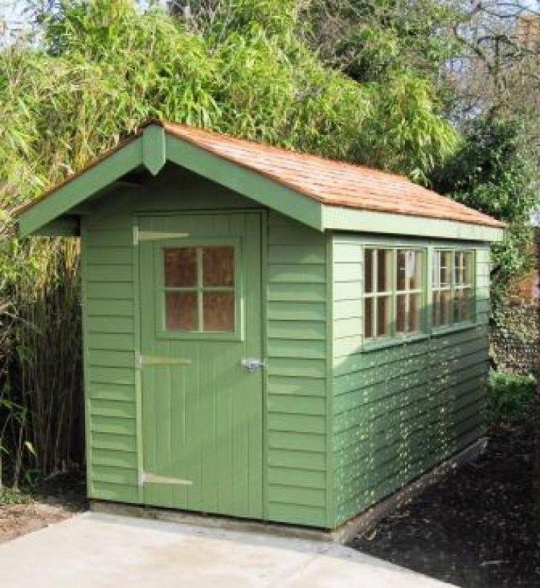 Lichen Garden Shed - Exeter