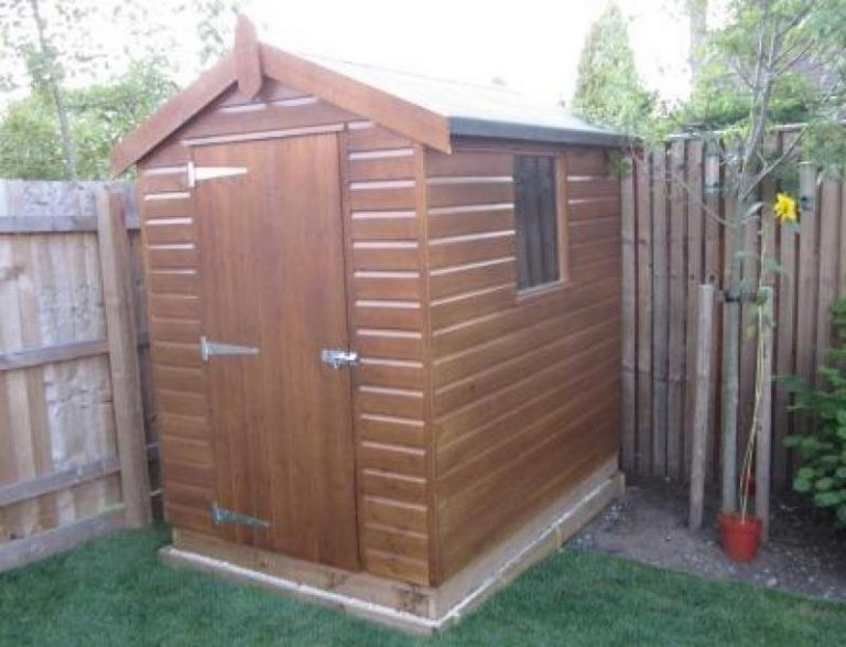 Garden Shed - March