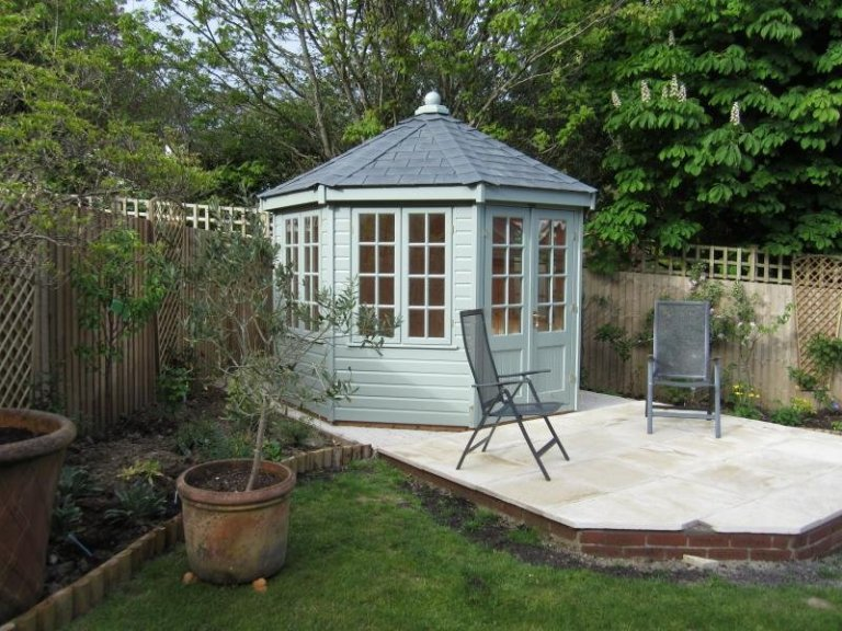 Wiveton Summerhouse with Slate Effect Tiles - Essex