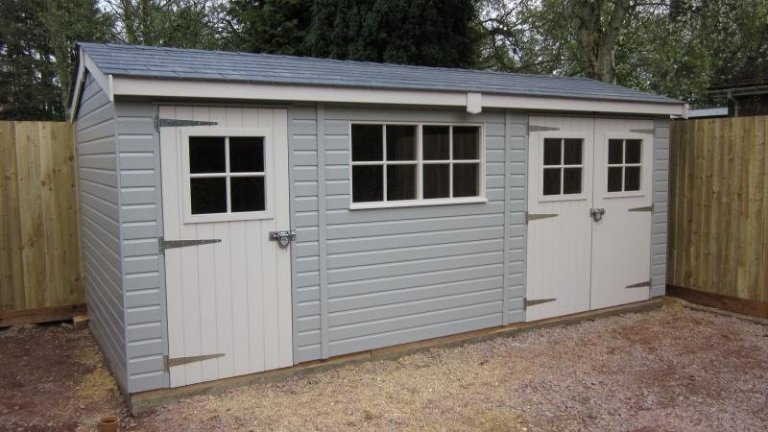 Superior Shed with Partition - Berkshire
