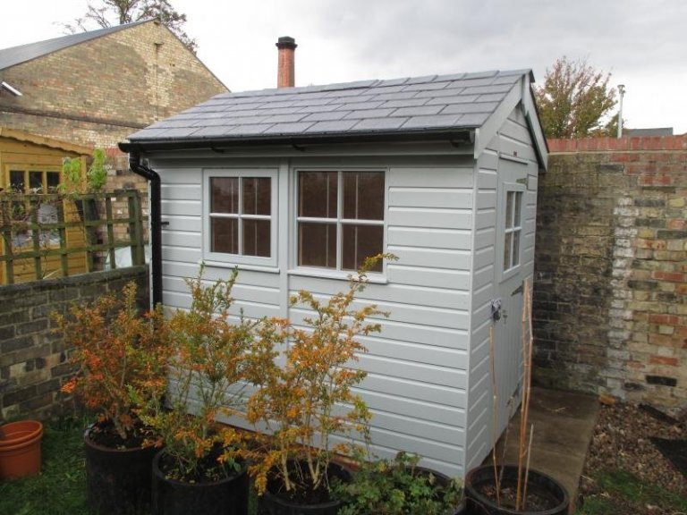 Superior Shed with Georgian Windows - Cambridgeshire