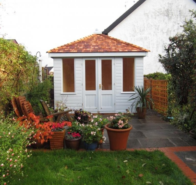 Summerhouse with Cedar Shingles - Harrow