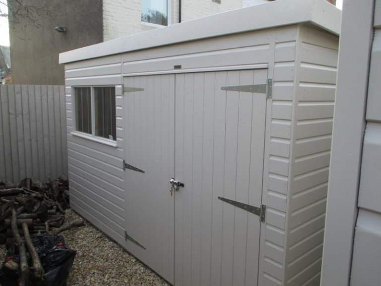 Superior Garden Shed With Pent Roof - Bristol