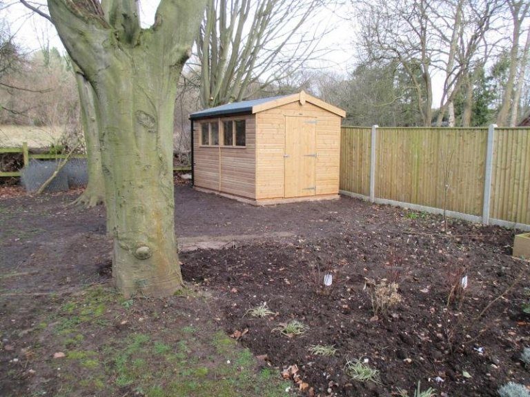 Superior Shed with Felt Roofing in Welwyn - Welwyn