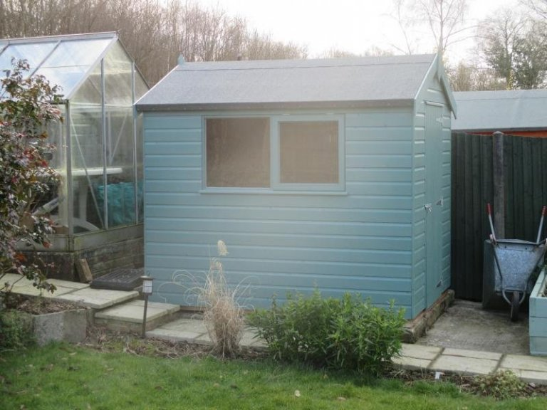 Classic Shed with an Opening Window - Tadley