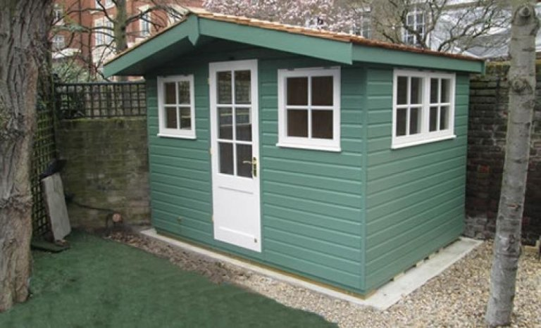 Superior Shed with Overhang - Chester