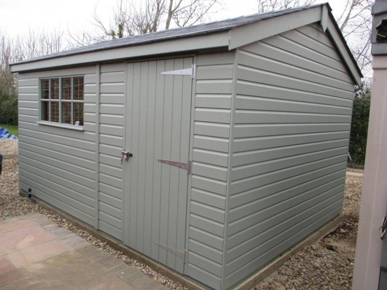 Superior Shed with a Security Pack - Swanton Morley