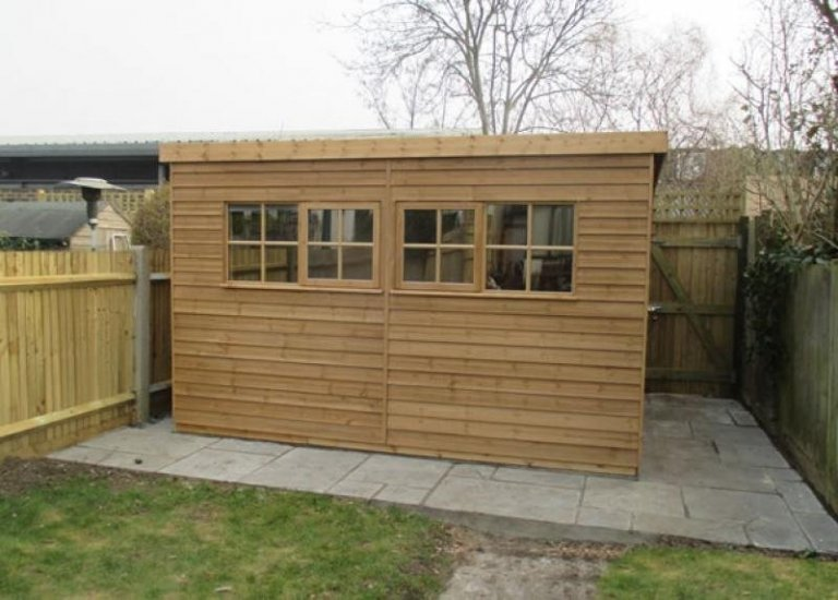 Superior Garden Shed with Weatherboard - Wimbledon