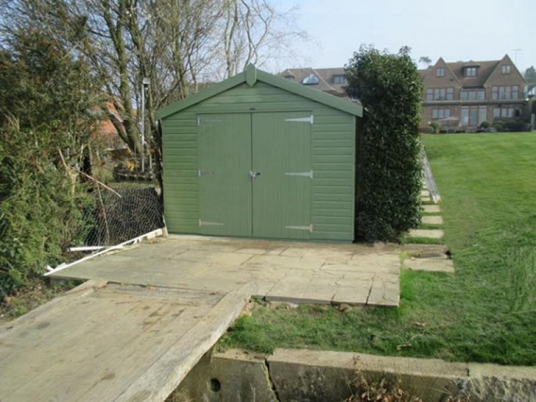 Superior Shed with Double Doors - Weymouth