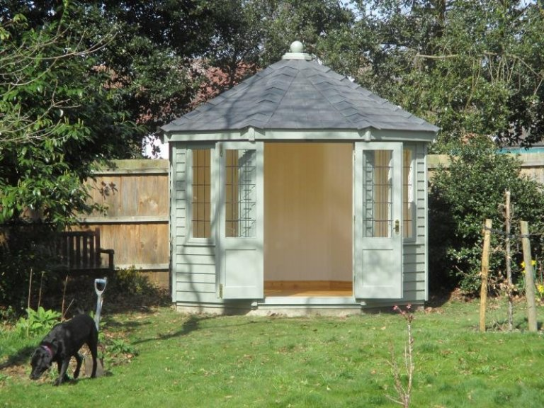 Wiveton Summerhouse with Lacquered Floor - Harlow