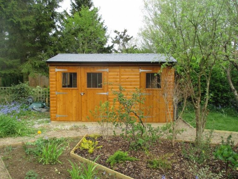 Superior Shed with Partition  - Abingdon