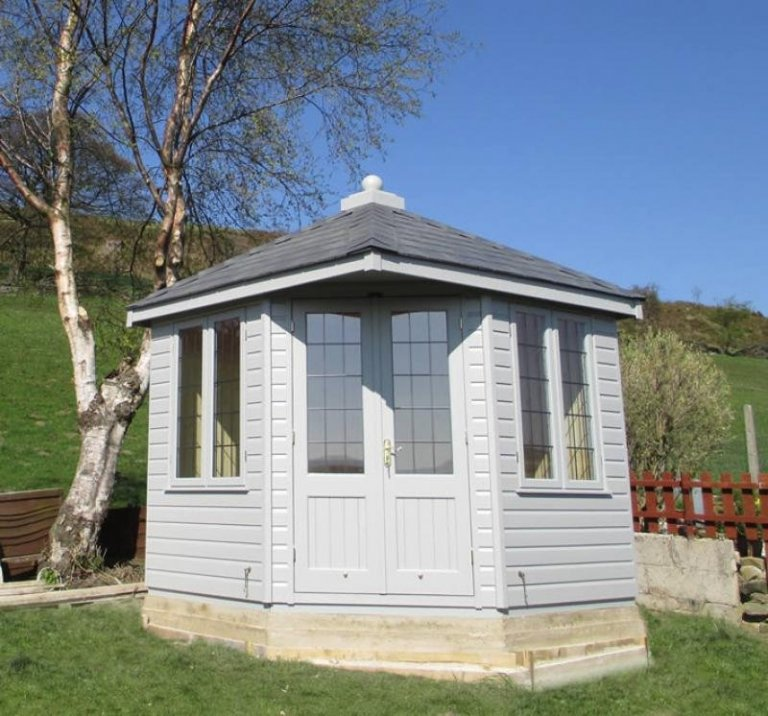 Weybourne Summerhouse with Valtti Paint - Leatherhead
