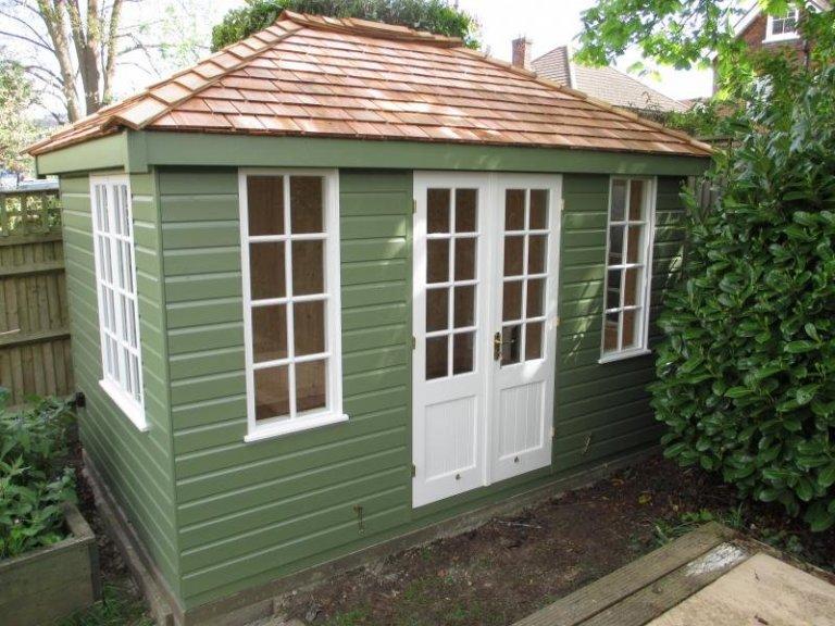 Cley Summerhouse with Cedar Shingles  - Weybridge