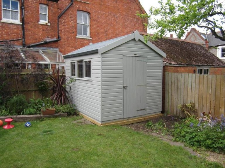 Superior Shed with Security Pack  - Earley