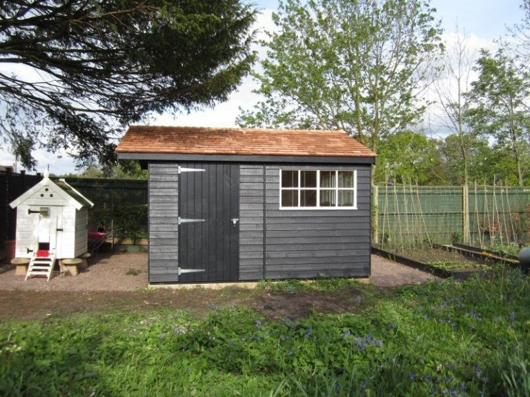 Superior Shed with Partition  - Haslemere