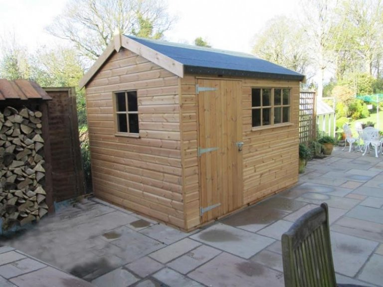 Superior Shed with Opening Windows  - Woking