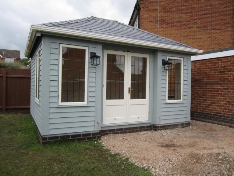 Garden Room with Inset Doors  - Egham Hythe