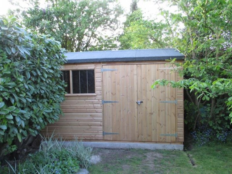 Superior Shed with Heavy Duty Floor - Teddington