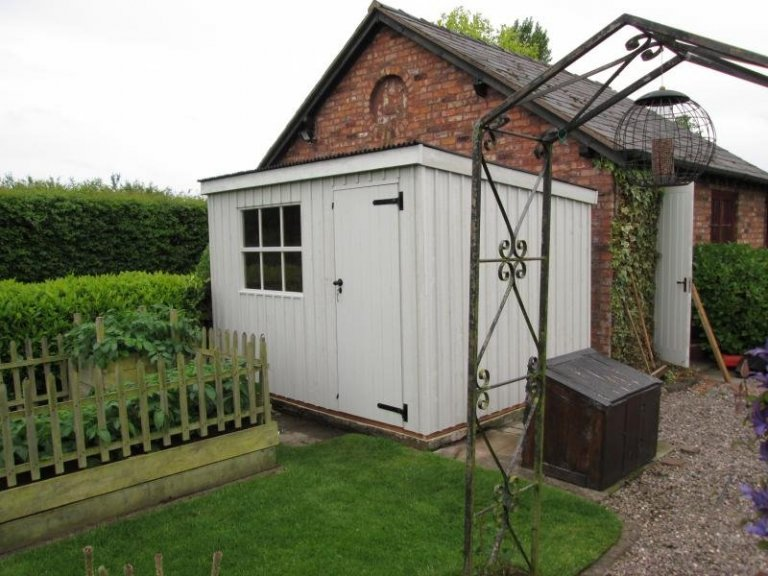 National Trust Oxburgh Garden Shed - Redhill