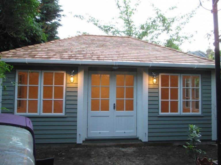 Garden Room with Inset Doors - Teddington