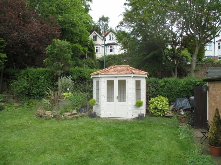 Wiveton Summerhouse with Cedar Shingles - Nottingham