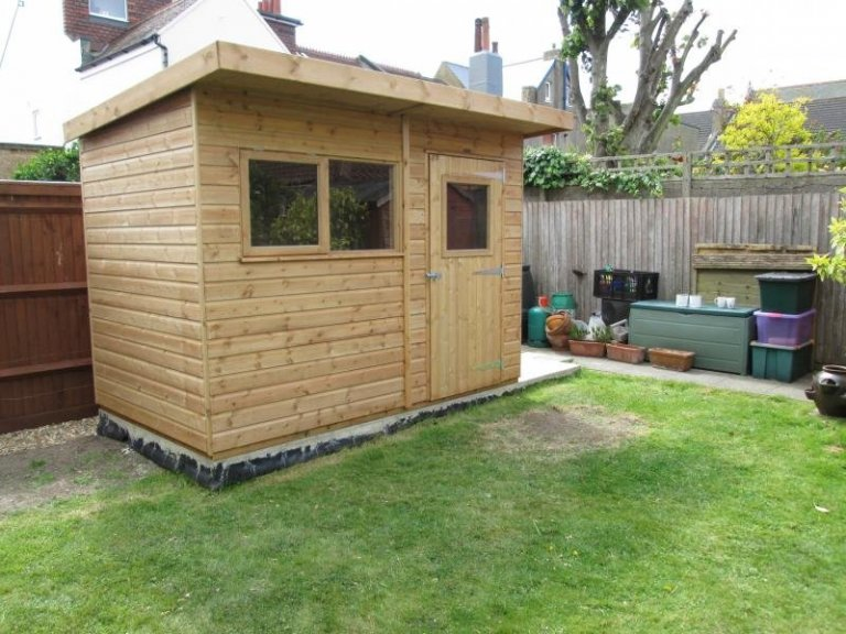 Superior Shed with Pent Roof - Camberley