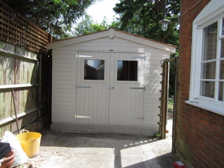 Superior Shed with Colour Matched Valtti Paint