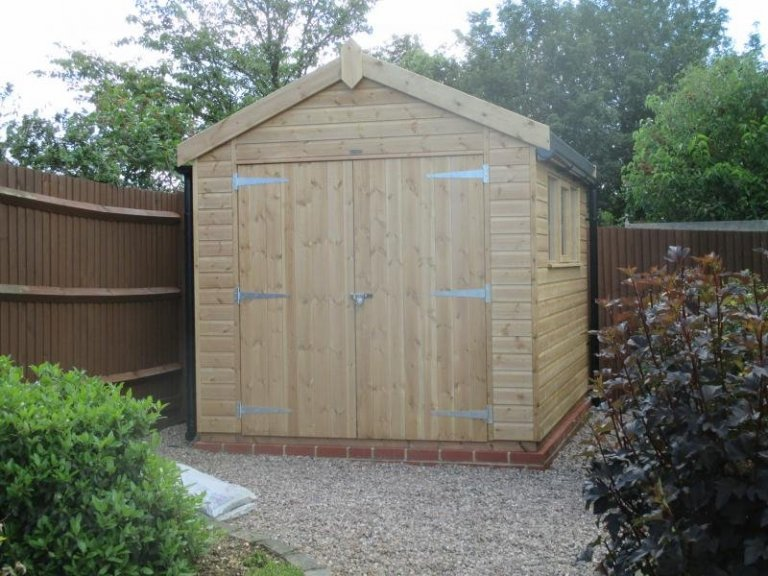 Superior Shed with Double Doors - Esher