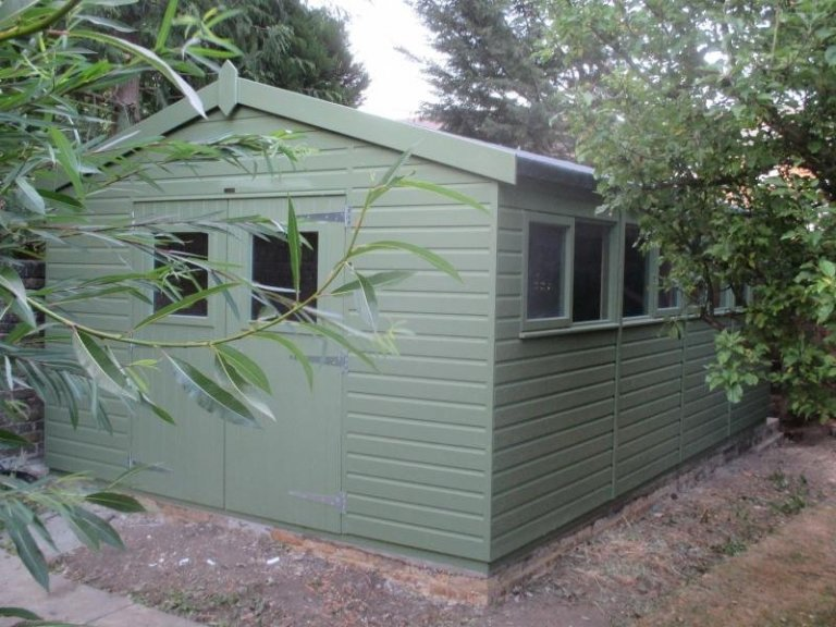 Superior Shed to be used as a workshop - Dorking