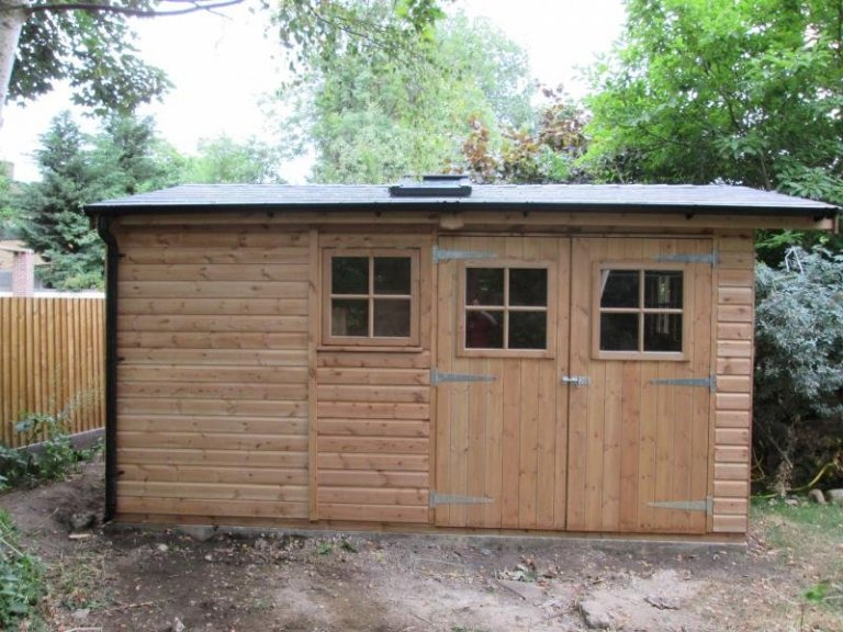 Superior Shed with Velux Windows - Lewisham