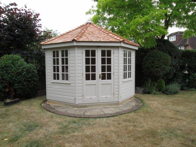 Wiveton Summerhouse with Double Glazing - Gatton