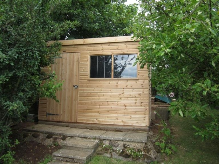 Superior Shed with Security Pack - Gomshall