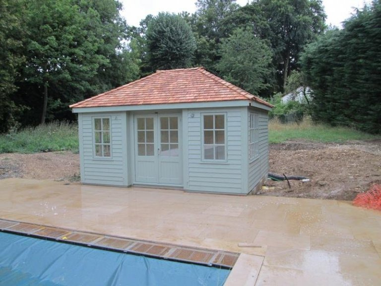 Garden Room with 2 Partitions - Harpenden