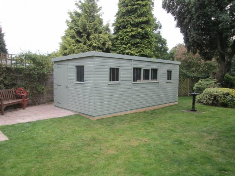 Superior Shed with Partition - Hungerford
