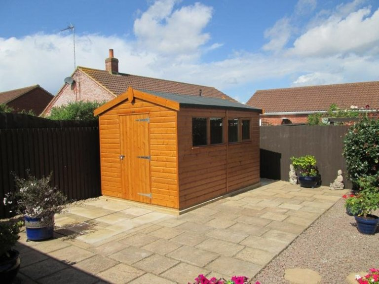 Superior Shed with a Security Pack - Snettisham