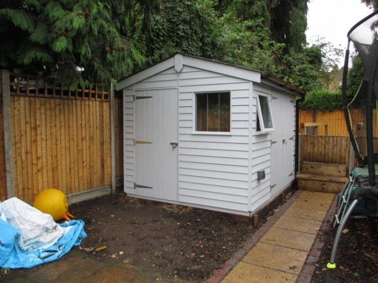 Superior Shed with Insulation - Bromley
