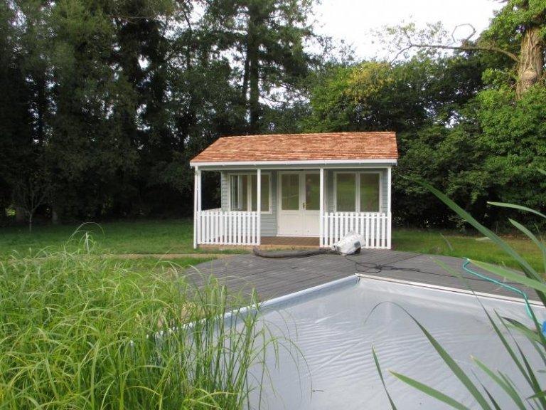 Garden Room with Veranda - Burley