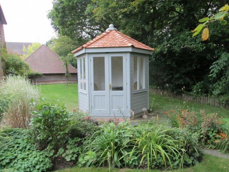 Wiveton Summerhouse with Cedar Shingles - Hungerford