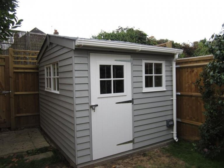 Superior Shed with Georgian Windows - Middlesex